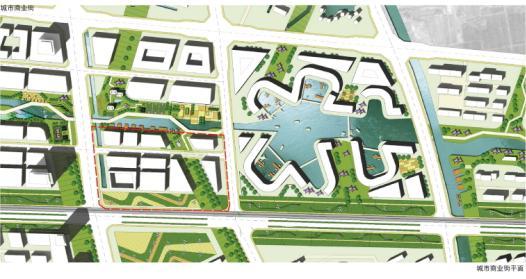 规划理念,总平面图,总图分析图 (526x279); 规划设计; 商业街总平面图