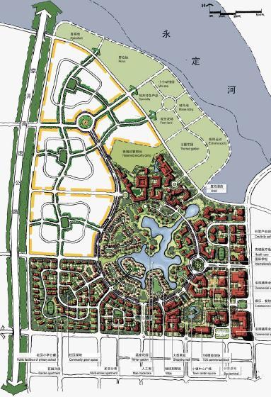 固安工业区76公顷居住区规划设计最终文本