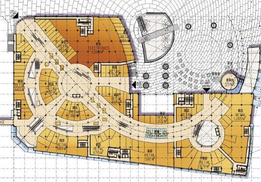 深圳海岸城购物中心100%建筑景观设计方案——美国凯里森建筑事务所