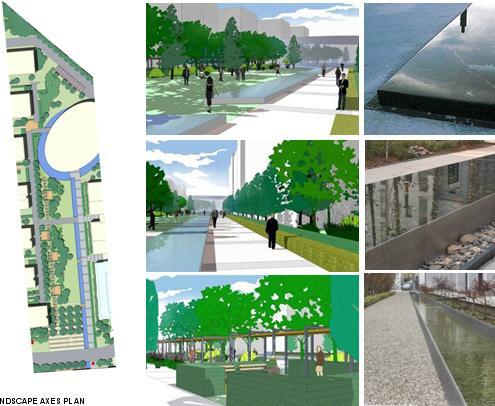 景观概念设计——泛亚国际
