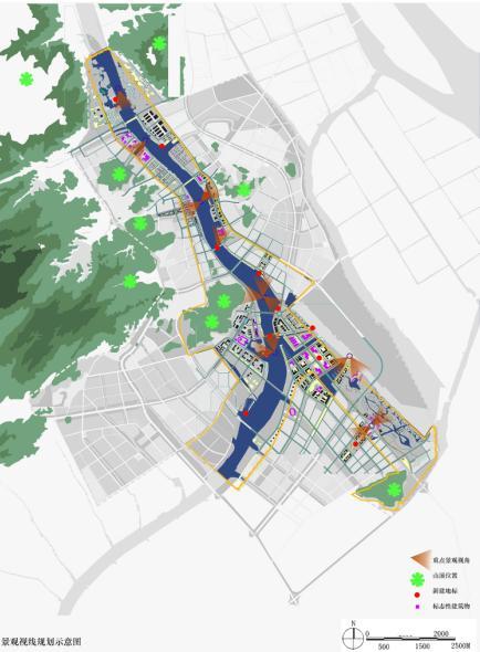 珠海斗门中心区暨黄杨河两岸及湖心路城市设计