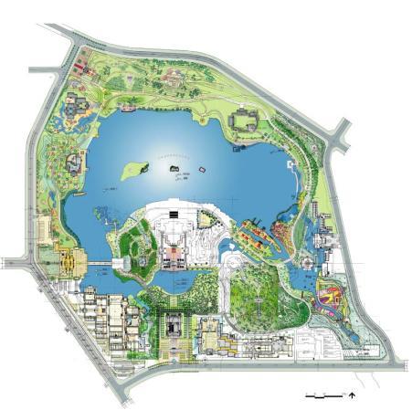 西安大唐芙蓉园景观初步设计-日本tam