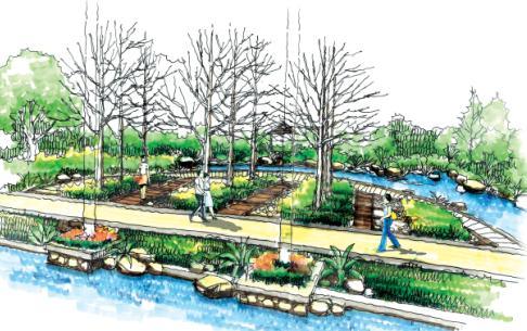 河北科技大学新校区景观设计方案