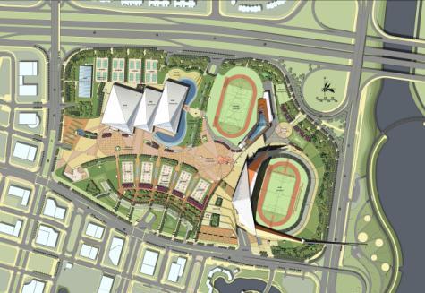 南山区深圳湾体育中心规划建筑方案设计