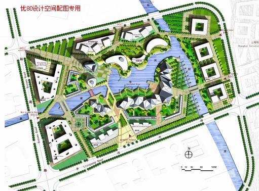 上海文化科技创意产业基地规划设计——斯道沃建筑; 图片