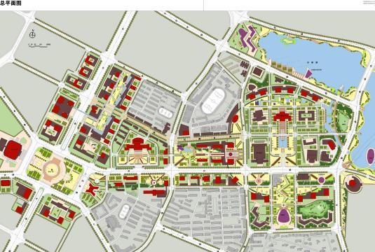 内容包括:背景研究;案例分析;概念规划;城市设计.图片