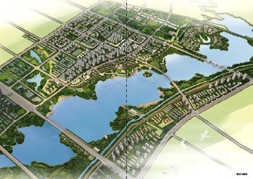 开封汴西湖周边地区城市设计2009