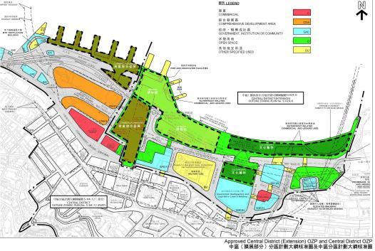 香港中环海旁城市设计国际竞赛方案合集