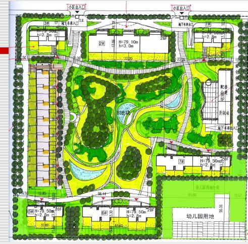 商业空间手绘平面图图片; 万科西大望路27号化机厂项目规划设计方案