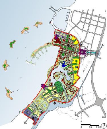 海口市西海岸金沙湾概念性总体规划设计方案2010