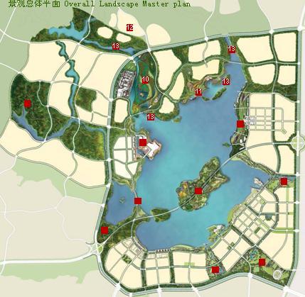 开封旅游手绘地图