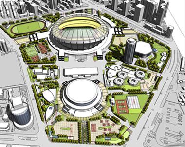 上海周浦万达广场景观及外部空间深化设计——澳大利亚pcal 秦皇岛市
