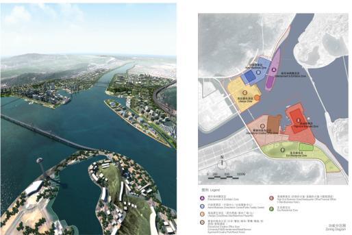 珠海十字门商务区城市设计概念规划竞赛2009