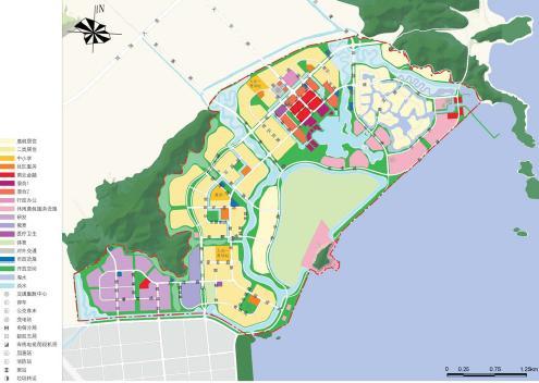 波市象山县大目湾新城总体规划2008 易道