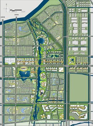 山经济技术开发区东部新城核心区规划设计