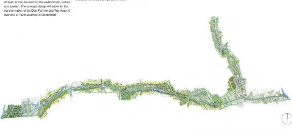上海外环水系景观总体规划设计-edaw