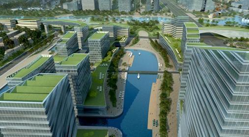 水城园 昆山东部新城规划研究2009 美国PURE
