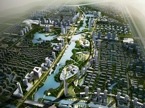 经济技术开发区东部新城核心区规划设计