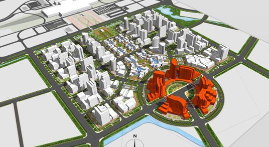 长春西部新城核心区修建性详细规划终稿2009 清华规划院