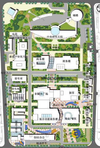 上海sva田林创意产业园区规划发展定位与概念规划
