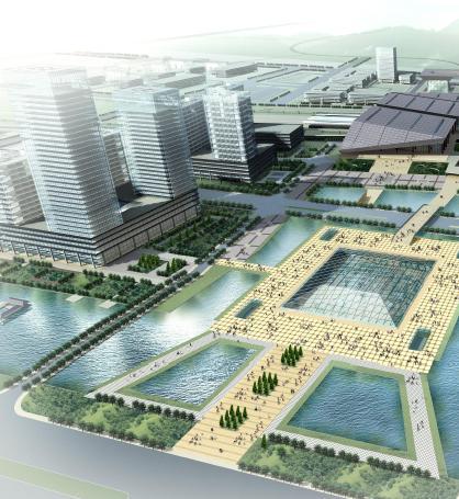 洛阳南站地区概念规划设计与城市设计