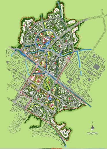 学生手绘城市俯瞰图_ps喷泉俯视图平面素材图片_ps喷泉俯视图平面素材图片下载