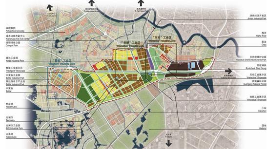 津南区津晋公路沿线工业园区规划与城市设计2