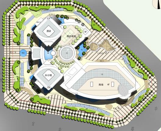 酒店设计的建筑方案文本,26jpg图,高像高清晰.