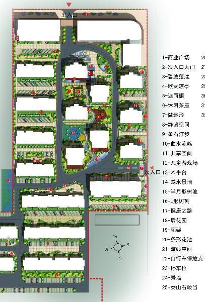 濮阳未来花园景观设计方案
