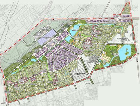 长春市规划图 长春市城市总体规划