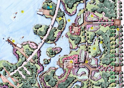 鱼塘排水设计图展示