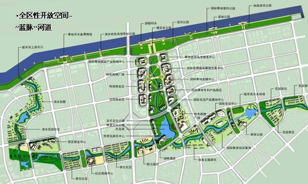 哈尔滨市群力新区总体城市设计——阿特金斯