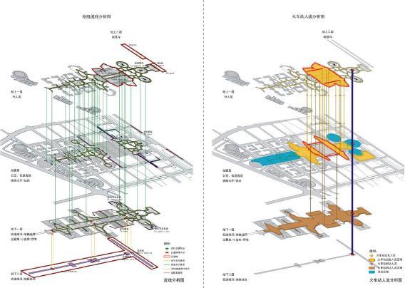 多功能建筑 手绘