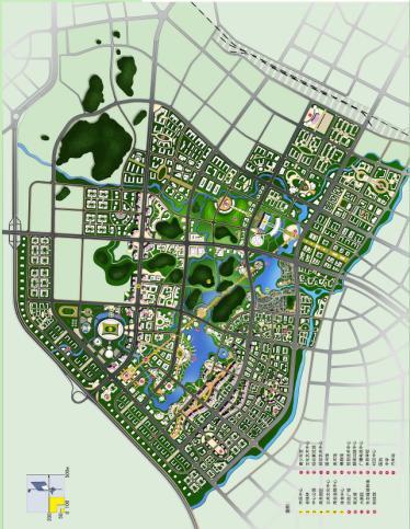 桂林市临桂新区中心区城市设计2008 桂林院