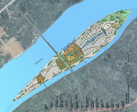长沙月亮岛度假社区总体规划2009——swa
