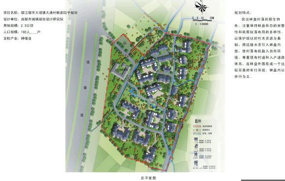 四川省村庄建设规划设计方案图集