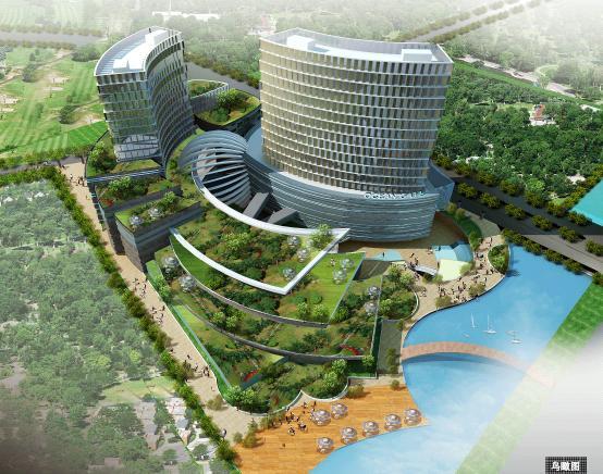 杭州萬邦藍祥購物中心規劃建筑設計2010--hma