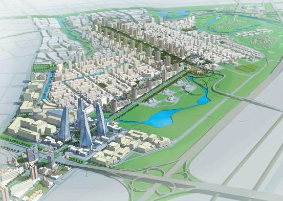 南京红花大校场飞机场区域概念规划竞赛