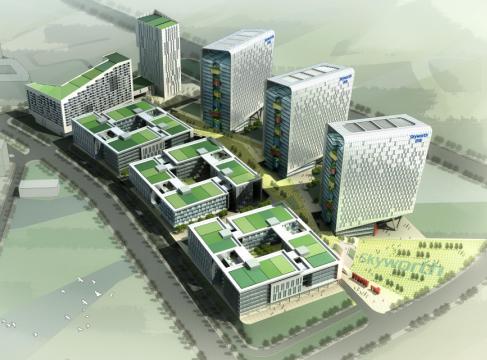 創維石巖工業園二期概念規劃設計