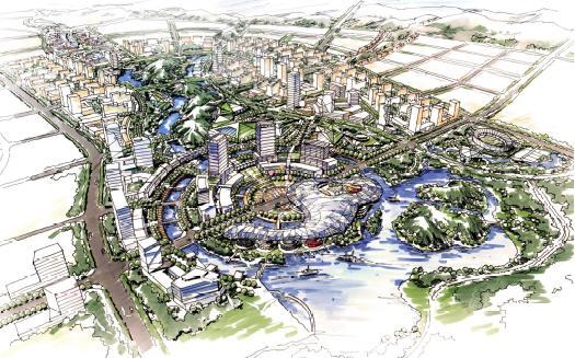 萍乡新城概念规划及城市设计国际竞赛2009