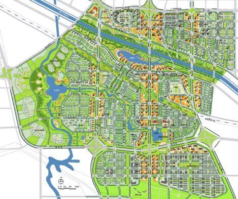 郑州滨河新区概念性总体规划及景观规划方案2010