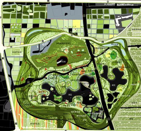 上海辰山植物园规划设计
