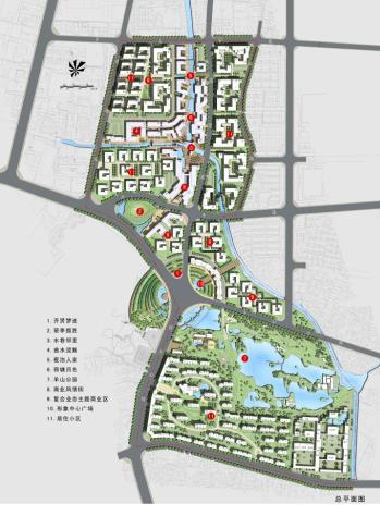 柯桥经济开发区齐贤中心区核心启动区城市设计图片