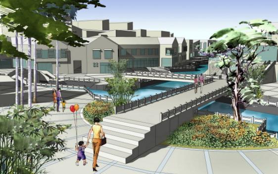 图纸(背景分析;城市设计;空间研究;景观节点设计;建筑概念;城市