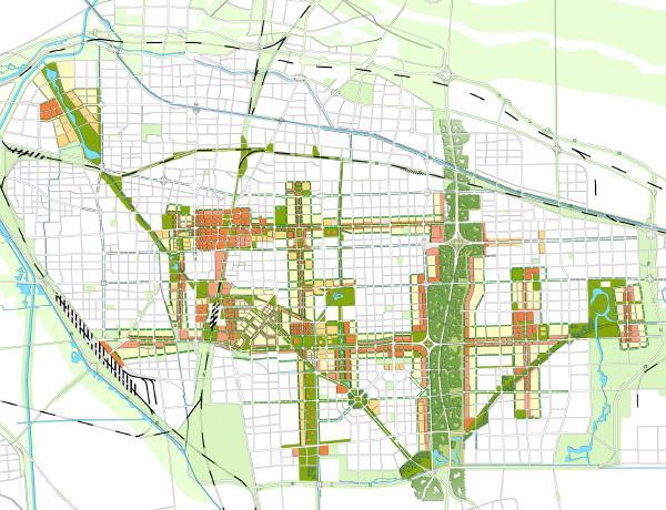 石家庄总体城市设计说明 清华