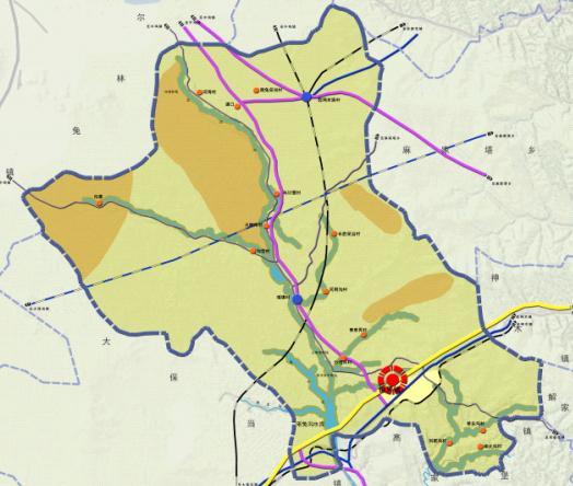 神木县锦界镇总体规划2011-2020——西安建大城规院