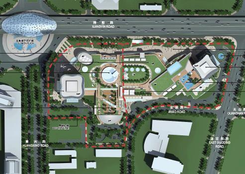 上海合生国际广场最终概念设计建筑方案