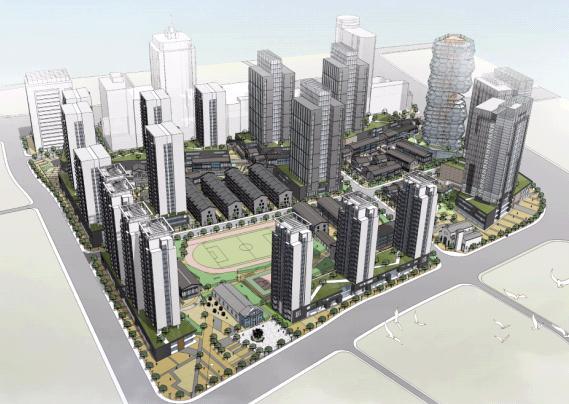 杭州百井坊地区有机更新城市设计——深规院