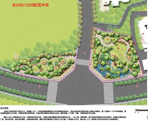 园林节点平面图_广场景观节点平面图