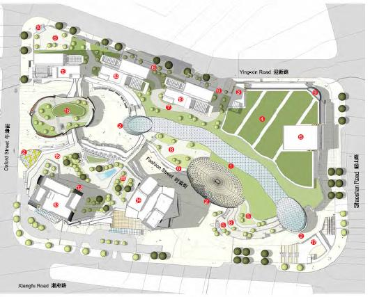 长沙城市广场最终初步建筑规划设计方案2011 优80设计空间